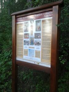 Panely rozprávajú o starých Slovanoch, sv. Cyrilovi a Metodovi