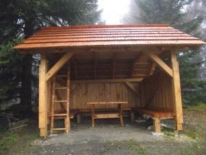 Takýto krásny domček sme pre všetkých turistov pripravili